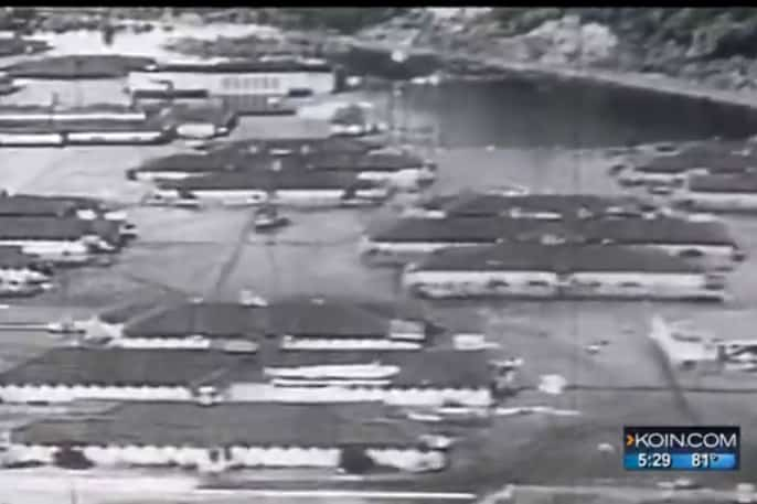Video Still from Vanport Flood video