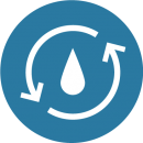an icon representing WATER CONVEYANCE